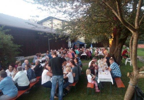 Ein schönes Sommerfest auf dem Vereinsgelände
