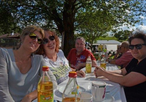 Viele Attraktionen beim Sommerfest des TC Waging -…