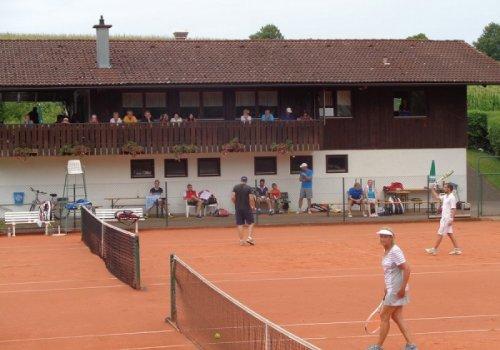 Schönes Tennis beim Waginger Doppelturnier