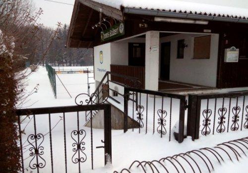 Winter auf der Tennisanlage: Hallentraining für die Jugend…