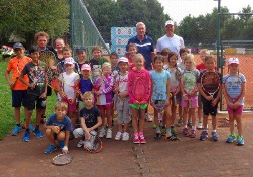 Tennis-Schnuppertag im Rahmen des Waginger Ferienprogramms