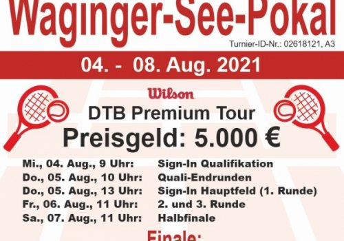 Waginger See-Pokal vom 4. - 8. August 2021