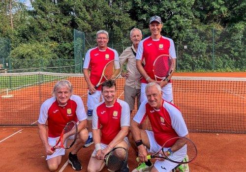 Herren 50 des Tennisclubs Waging Meister in der…